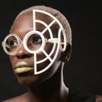 La designer Nasim Sehat   e i suoi originali  occhiali stampati in 3D