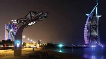 Dubai  introduce  la  Palma Smart stampata in  3D per offrire servizi di telefonia, informazione,selfie, wi-fi, ricarica