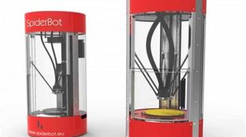 Accordo MAPED con Qualup SAS per la distribuzione della stampante 3D professionale SpiderBot Delta nelle scuole