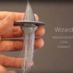 Capelli realistici stampati in 3D con la nuova tecnica 'Furbrication'
