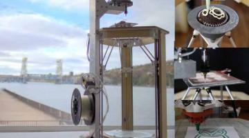 Stampante all-in-one Athena 3D, disegna, taglia,stampa in 3D plastiche e alimenti