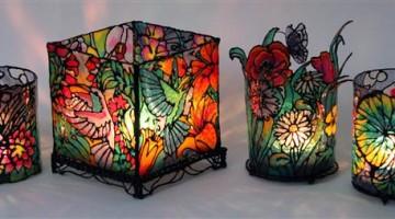 Penna 3D 3Doodler –  Realizzare un portacandele in stile Tiffany per natale