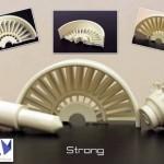 Stampante Roboze One+400,  estrude materiali a 400 c° con grande resistenza