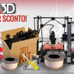 SDM STAMPANTI 3D FA SCONTI FINO A 800€ PER NATALE