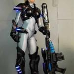 Costume realistico StarCraft Nova Terra interamente stampato in 3d