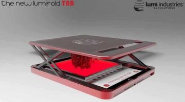 Lumi Industries rivoluziona la stampa 3D con il nuovo brevetto della LumiFold DLP 3D a stampa estensibile