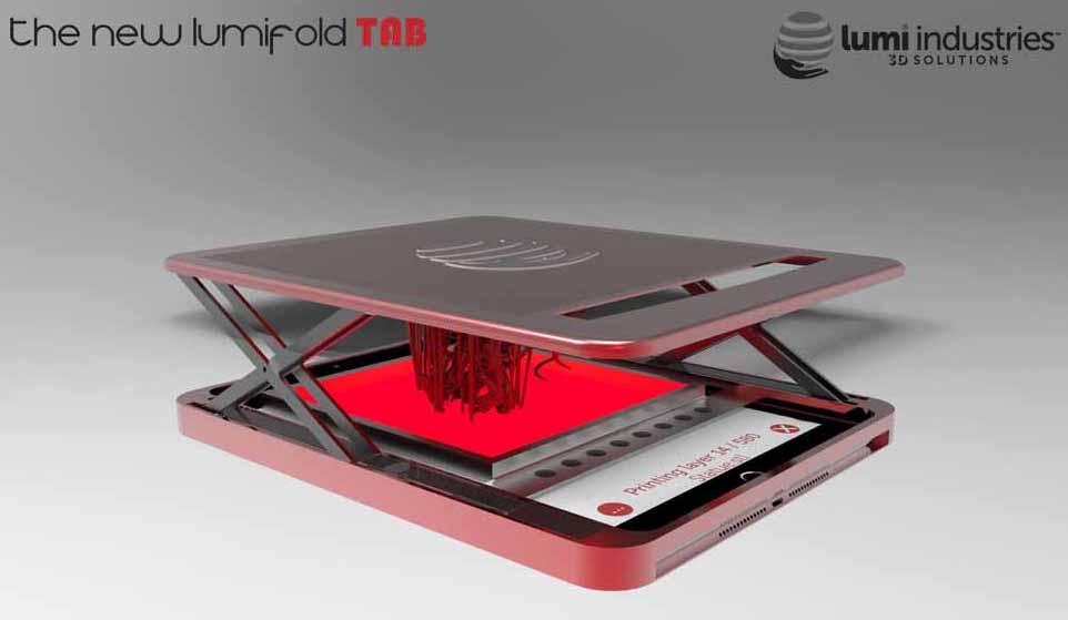 Nuova-stampante-3d- LumiFold-TAB-DLP-0