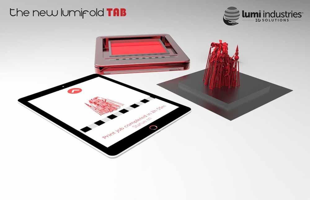 Nuova-stampante-3d- LumiFold-TAB-DLP-3