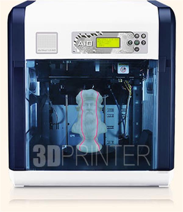 XYZPrinting Da Vinci 1.0 AiO 3D Printer + Scanner