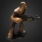 Modello 3D  gratuito della settimana: Chewbacca di Star Wars