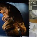 Scultura sbalorditiva alta7 metri di 2400 kg stampata in 3Dper l'Elektra diRichard Strauss