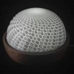 FLUX 3D – Scultura cinetica stampata in 3D dall'artista Artista Dieter Pilger