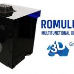 Romolo III la Stampante 3D rivoluzionaria che deposita 10 materiali simultanei compresa l'elettronica