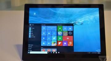 Tablet Lenovo ThinkPad X1 che può diventare computer portatile, videoproiettore e Scanner 3D