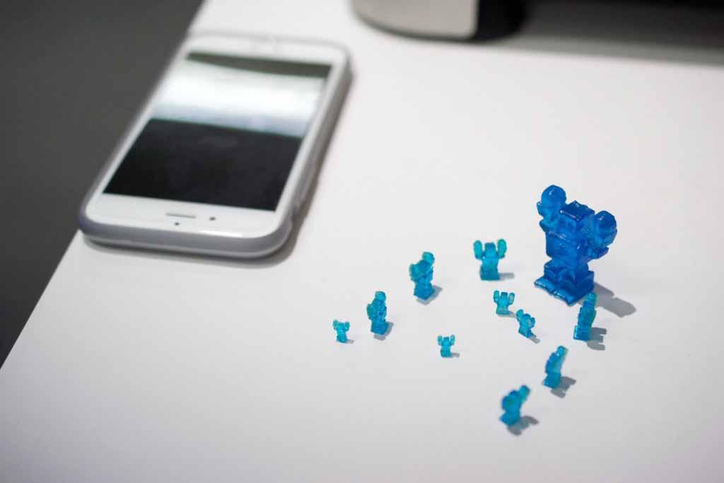 oggetti stampate dal 3D Jet