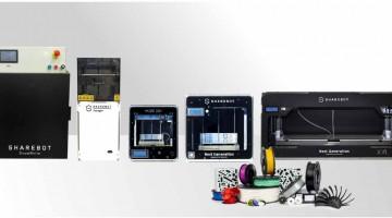SHAREBOT presente al SamuExpo di Pordenone con la sua famiglia di stampanti 3D in tecnologia  FFF,DLP,DLS