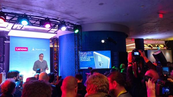 Google-Lenovo annuncio congiunto al CES 2016