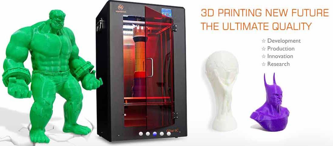 stampante 3D Mingda Glitar 5C-2a