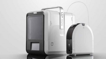 UP mini 2 stampante 3D economica presentata al CES 2016 da Tiertime