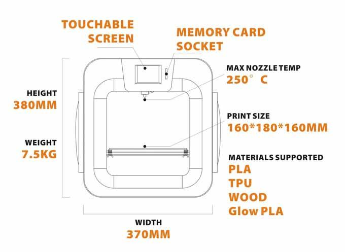 stampante B-Creative 3D5
