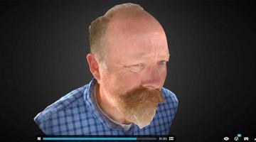La  scansione 4D ,la nuova tecnologia di Sketchfab & TimeSlice sempre piu' matura