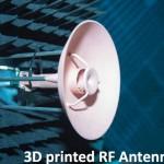 ESA testa la prima antenna spaziale completamente stampata in 3d