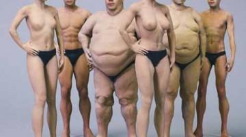 """Stampa 3d del tuo Selfie """"Nudo"""" . Normale , muscoloso od obeso?"""