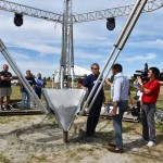 BIGDELTA WASP La gigantesca stampante 3D , alta 12 metri, sarà al centro di un parco tecnologico
