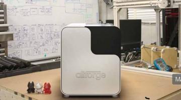 Allforge propone la sua replicatrice desktop per produzione di massa in plastica, metallo e alimentare  su kickstarter