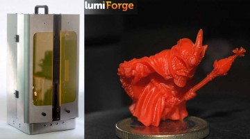 Lumi Industries presenta la nuova stampante 3D DLP professionale ed economica