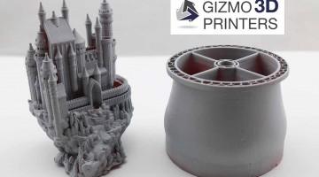 Le stampanti 3D DLP  di Gizmo 3D su indiegogo – Superveloci e grande formato