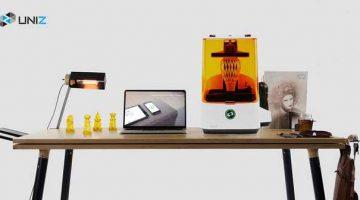 Stampante SLASH 3D SLA desktop di Uniz sbanca su Kickstarter