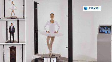 Texel Portal 3D – la scansione HD full-body in 20 secondi