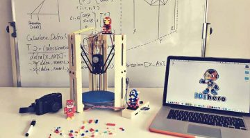 Stampante 101Hero Mini 3D  a 44 €  sbanca su kickstarter