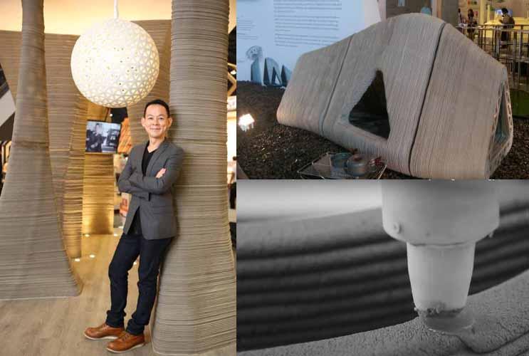 Architettura stampata in 3d da siam cement group stampa for Progetti architettura on line
