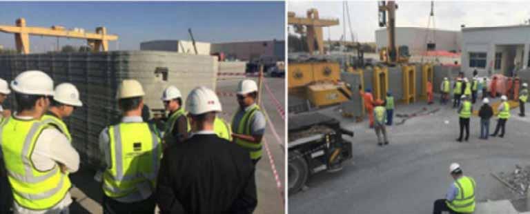 operai al lavoro a Dubai