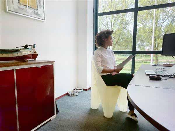 sedia stampata con xcel-3d