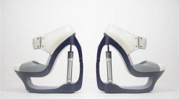 Le stupefacenti scarpe stampate in 3d di Silvia Fado
