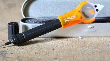 Bondic 3D il saldatore UV LED in plastica liquida per riparare le stampe 3D