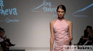 A Firenze la fashion-designer Irina Tosheva presenta i suoi vestiti stampati in 3D