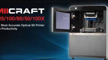 MiiCraft 125  la linea di stampanti 3D DLP alta precisione per gioiellieri e dentisti