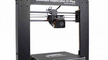 La nuova stampante 3D economica Duplicator i3 Plus di Wanhao  a soli 499 $