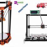 FLSUN 3D  e le sue stampanti   Prusa i3 e Kossel Delta  a basso costo (219 $) in kit di montaggio