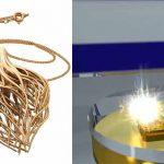M 080 – Stampante 3d diretta in oro e platino per gioielli finiti.