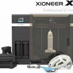 La stampante professionale economica 3D Xioneer System X1 presentata alla UE,  come chiave per la crescita economica