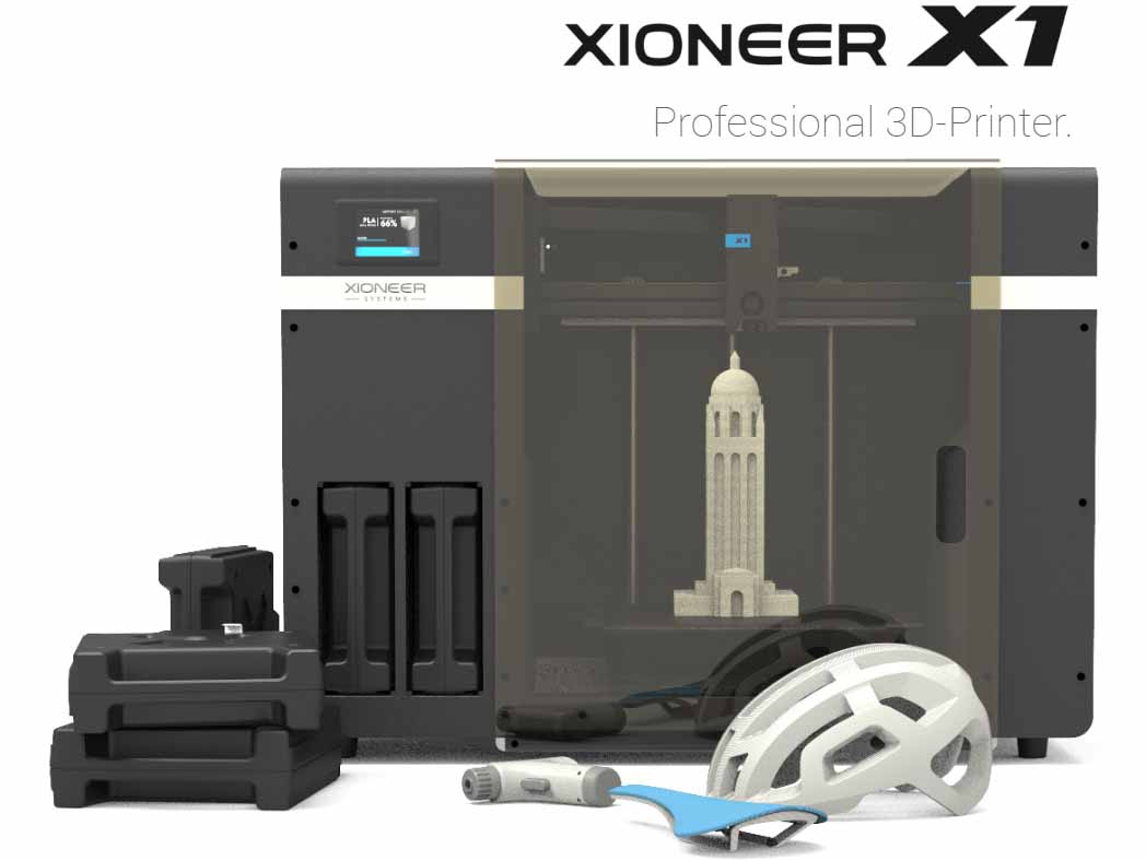 Xioneer X1 3D printer-44