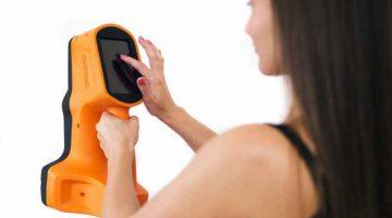Lo scanner Thor3D, portatile con sistema di marcatura