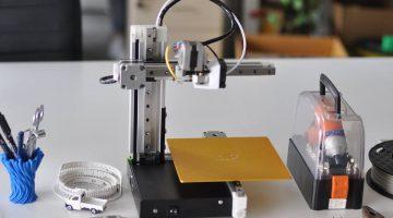 Cetus 3D  – La stampante 3D minimal ad alta risoluzione