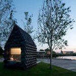 Mini-abitazione per accoglienza temporanea Stampato in 3D ad Amsterdam