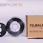 GRAFYLON3D Filamento in Grafene che rivoluzionà la stampa 3D, prodotto da Directa Plus con FiloAlfa